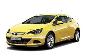 Opel Astra J GTC 2011