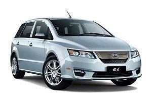 Тест-драйв  BYD  e6: Китайский электромобиль