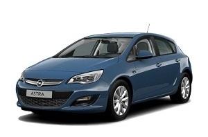 Opel Astra J Hatchback 2012