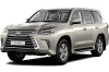 Тест-драйвы Lexus LX 570/450d