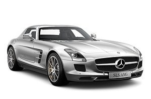 Mercedes SLS AMG Coupe (C197) 2009