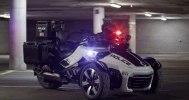 Полицейский трицикл Can-Am Spyder F3-P - фото 10
