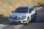 Mercedes вывел на завершающие тесты обновленный GLA - фото 7