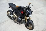 Минибайк Honda MSX с мотором Ducati 1199 Panigale R - фото 1
