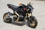 Минибайк Honda MSX с мотором Ducati 1199 Panigale R - фото 2