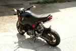 Минибайк Honda MSX с мотором Ducati 1199 Panigale R - фото 5