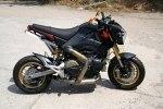 Минибайк Honda MSX с мотором Ducati 1199 Panigale R - фото 6
