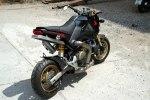 Минибайк Honda MSX с мотором Ducati 1199 Panigale R - фото 7