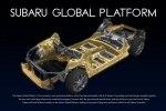 В Японии представлена платформа Subaru Global Platform - фото 7