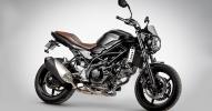 Suzuki показали мотоцикл SV650 Scrambler 2017 - фото 2