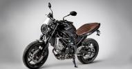 Suzuki показали мотоцикл SV650 Scrambler 2017 - фото 3