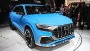 Audi показала большой кроссовер Q8 - фото 1
