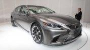 Lexus представил седан LS нового поколения - фото 3