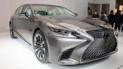 Lexus представил седан LS нового поколения - фото 4