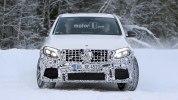 «Заряженный» кроссовер Mercedes-AMG GLC 63 Coupe вновь замечен на тестах - фото 1