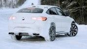 «Заряженный» кроссовер Mercedes-AMG GLC 63 Coupe вновь замечен на тестах - фото 10