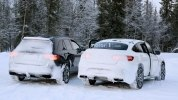 «Заряженный» кроссовер Mercedes-AMG GLC 63 Coupe вновь замечен на тестах - фото 12