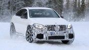 «Заряженный» кроссовер Mercedes-AMG GLC 63 Coupe вновь замечен на тестах - фото 3