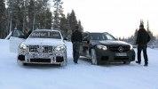 «Заряженный» кроссовер Mercedes-AMG GLC 63 Coupe вновь замечен на тестах - фото 4