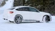 «Заряженный» кроссовер Mercedes-AMG GLC 63 Coupe вновь замечен на тестах - фото 8