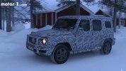 Новый внедорожник Mercedes-Benz G-Class показали на видео - фото 3