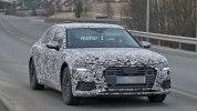 Audi A6 нового поколения впервые замечена на тестах - фото 1
