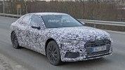 Audi A6 нового поколения впервые замечена на тестах - фото 5
