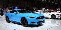Без V6, но с экранами: как изменился Ford Mustang после рестайлинга - фото 1