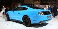 Без V6, но с экранами: как изменился Ford Mustang после рестайлинга - фото 2