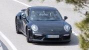 Следующее поколение Porsche 911 Turbo впервые попало в объективы фотокамер - фото 2