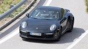 Следующее поколение Porsche 911 Turbo впервые попало в объективы фотокамер - фото 3