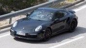 Следующее поколение Porsche 911 Turbo впервые попало в объективы фотокамер - фото 4