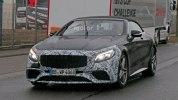 Прототип обновленного кабриолета Mercedes-AMG S63 выехал на дороги - фото 2