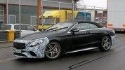 Прототип обновленного кабриолета Mercedes-AMG S63 выехал на дороги - фото 3
