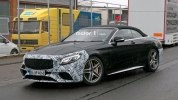Прототип обновленного кабриолета Mercedes-AMG S63 выехал на дороги - фото 4