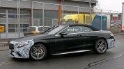 Прототип обновленного кабриолета Mercedes-AMG S63 выехал на дороги - фото 5