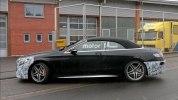 Прототип обновленного кабриолета Mercedes-AMG S63 выехал на дороги - фото 6