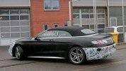 Прототип обновленного кабриолета Mercedes-AMG S63 выехал на дороги - фото 8
