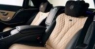 Brabus опубликовала новые фото 900-сильного седана Mercedes-Maybach S600 - фото 10
