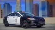 Ford представил полицейский гибридный седан Fusion Hybrid - фото 4