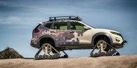 Nissan разработал кроссовер на гусеницах - фото 2