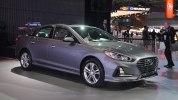 В Нью-Йорке представлен обновлённый седан Hyundai Sonata 2018 модельного года - фото 1