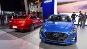 В Нью-Йорке представлен обновлённый седан Hyundai Sonata 2018 модельного года - фото 6