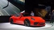 Porsche 911 GT3 2018 модельного года представлен в Нью-Йорке - фото 1