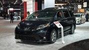 Toyota Sienna 2018 прибыла в Нью-Йорк - фото 1