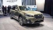 Обновленный Subaru Outback 2018 прибыл в Нью-Йорк - фото 1