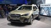 Обновленный Subaru Outback 2018 прибыл в Нью-Йорк - фото 2