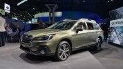 Обновленный Subaru Outback 2018 прибыл в Нью-Йорк - фото 3