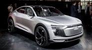 Электрический кросс Audi E-Tron Sportback Concept представлен официально - фото 1