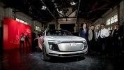 Электрический кросс Audi E-Tron Sportback Concept представлен официально - фото 11